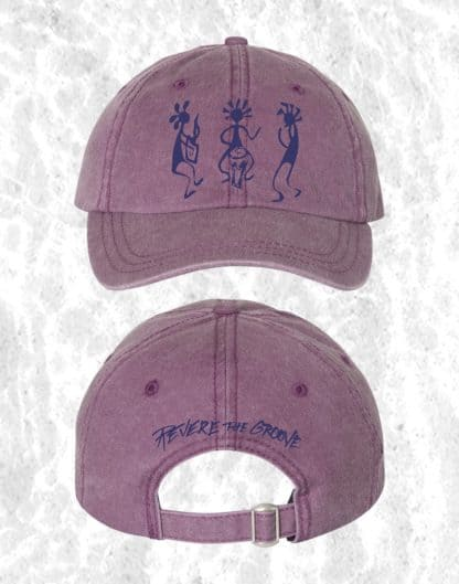 revere the groove hat purple
