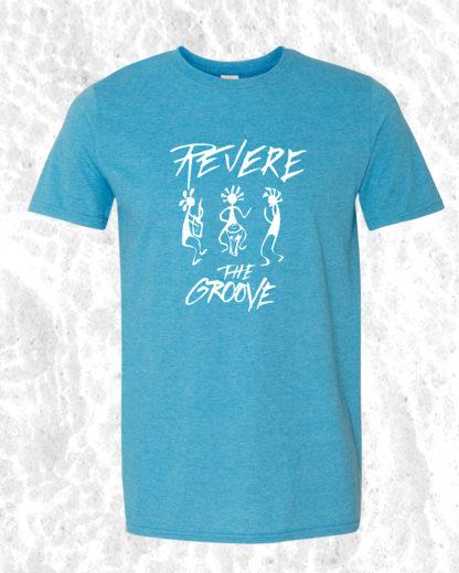 revere the groove shirt blue