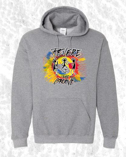 color bomb hoodie gray