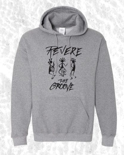Revere the Groove Hoodie gray