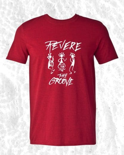 red revere the groove shirt
