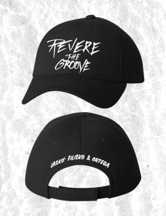 revere the groove hat black