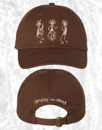 revere the groove hat brown
