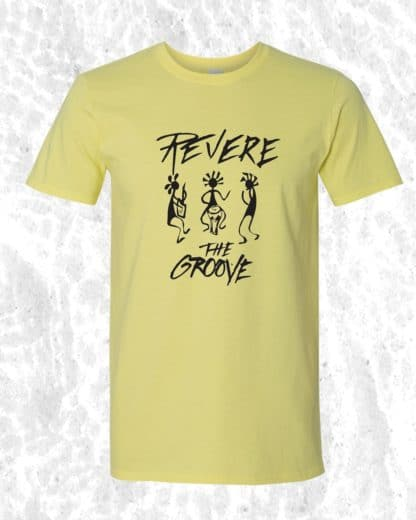 revere the groove yellow shirt