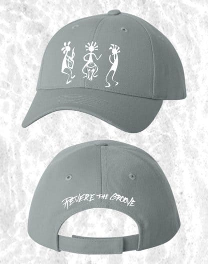 revere the groove hat gray