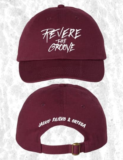 revere the groove hat red