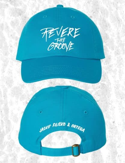 revere the groove hat blue