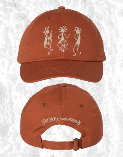 revere the groove hat orange