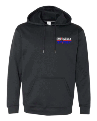 Front of St. Josephs Performance Hoodie